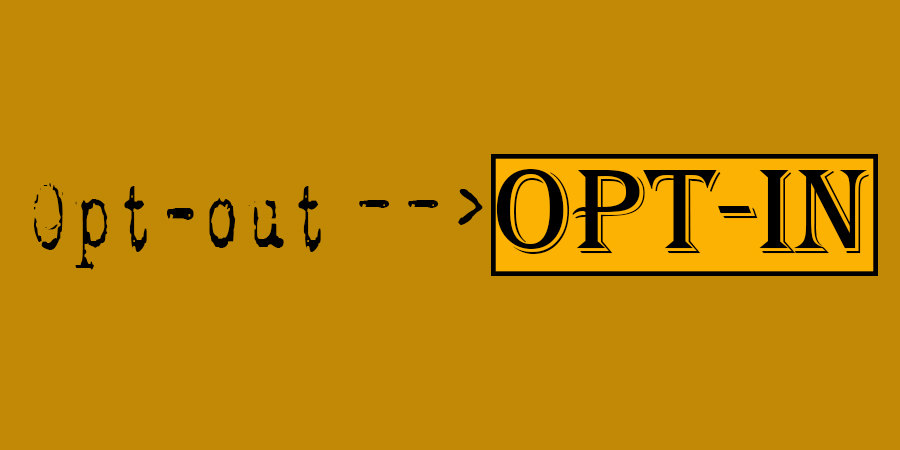Opt in a opt-out