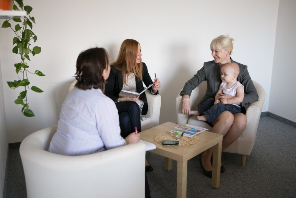 baby office coworking