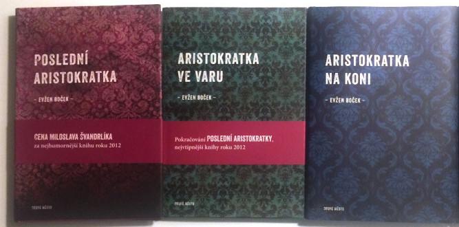 Evžen Boček a jeho knihy o aristokratce