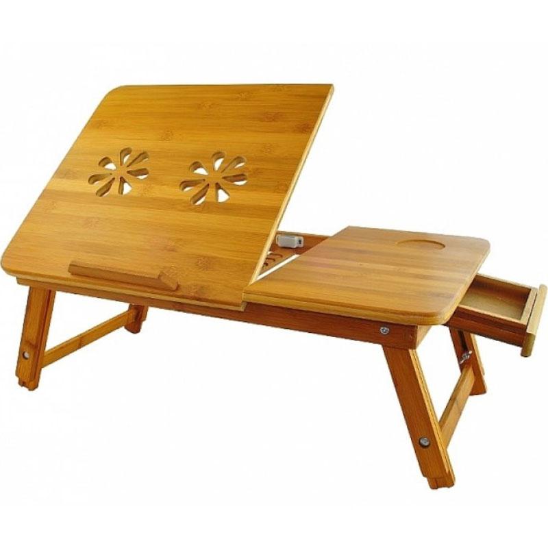 Dřevěný stolek do postele -Originální dárky pro ženy