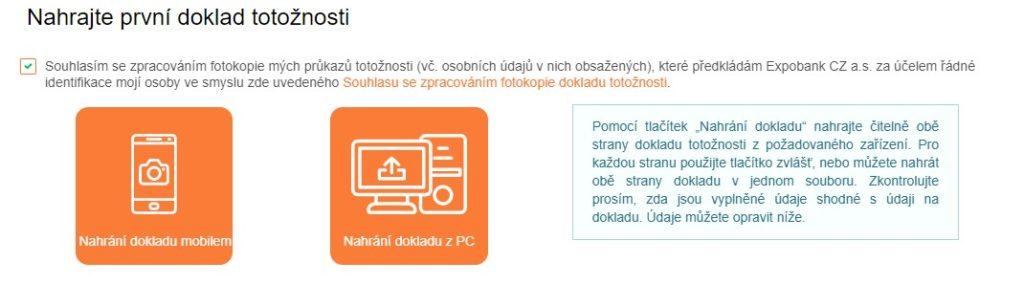 Expobank běžný účet