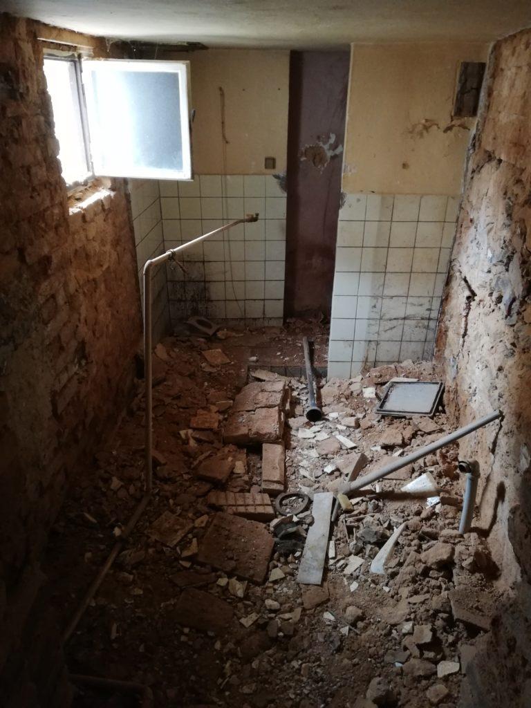 Rekonstrukce domu spíž