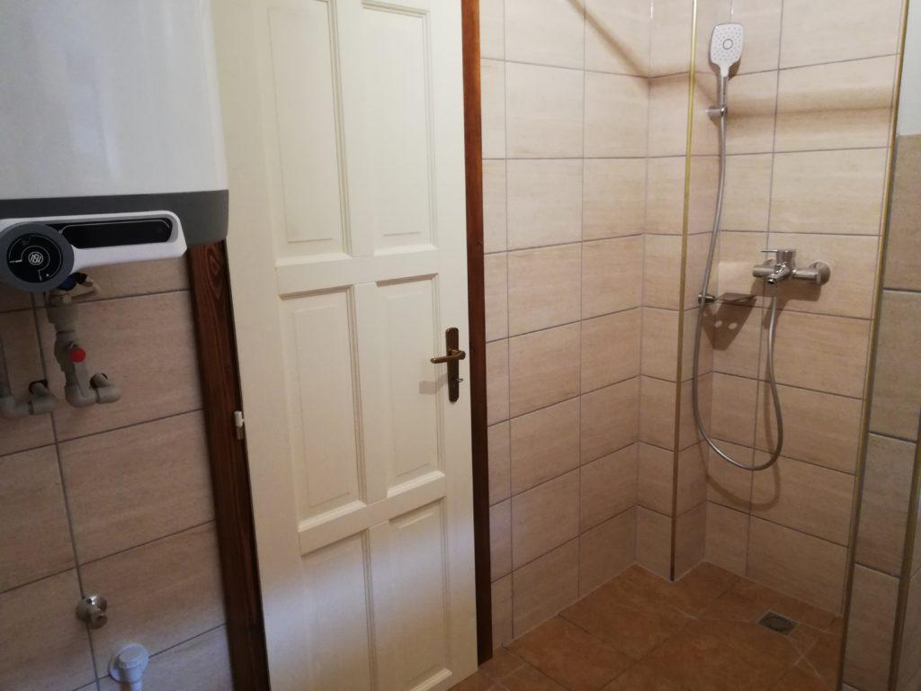 Dveře do koupelny