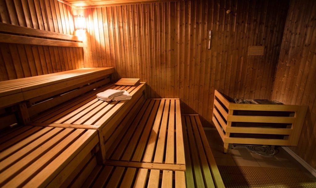 Patrová sauna