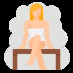 návyk sauna