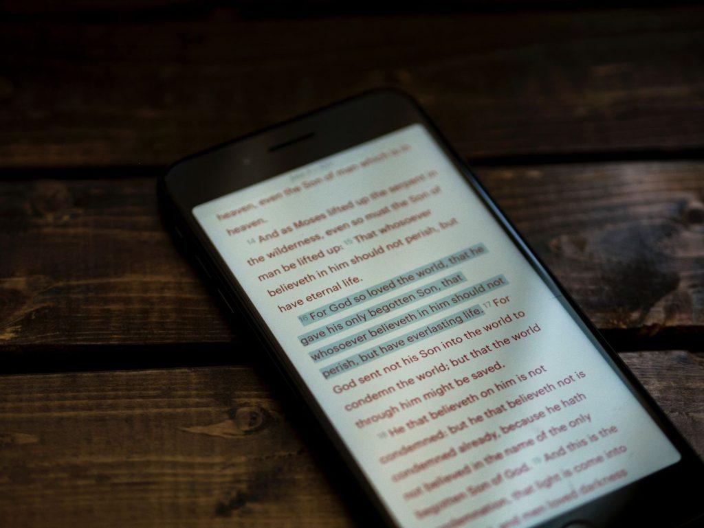 čtení podtrhávání