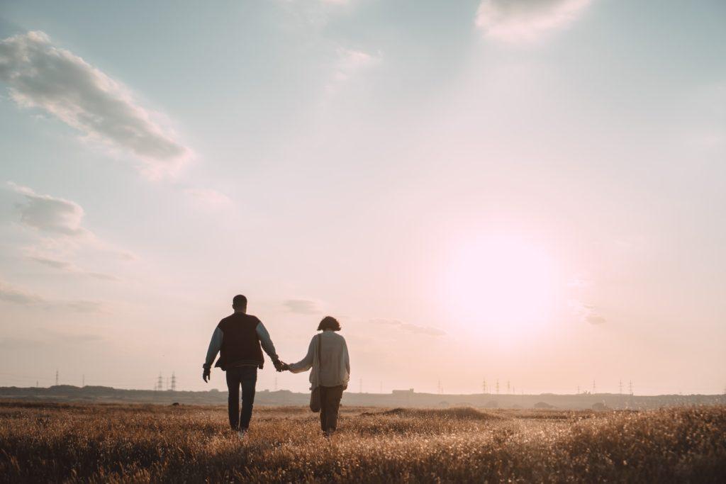 Gesta rukou v zamilovanosti