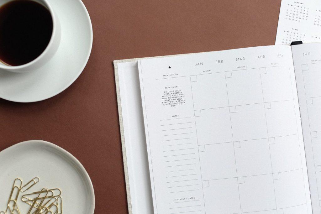 Kalendář - základ běžného režimu i home office