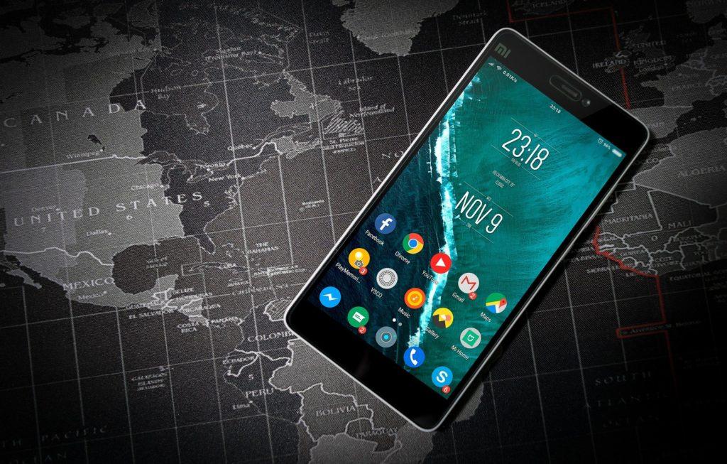 mobilní aplikace pro cestování