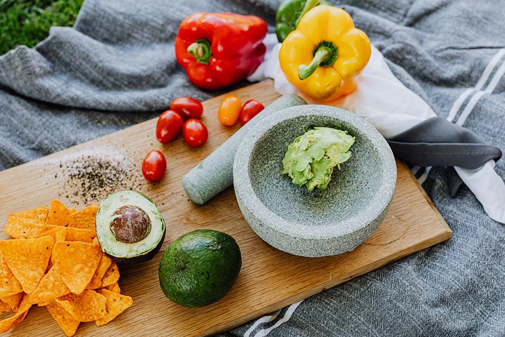 avokádová pomazánka guacamole