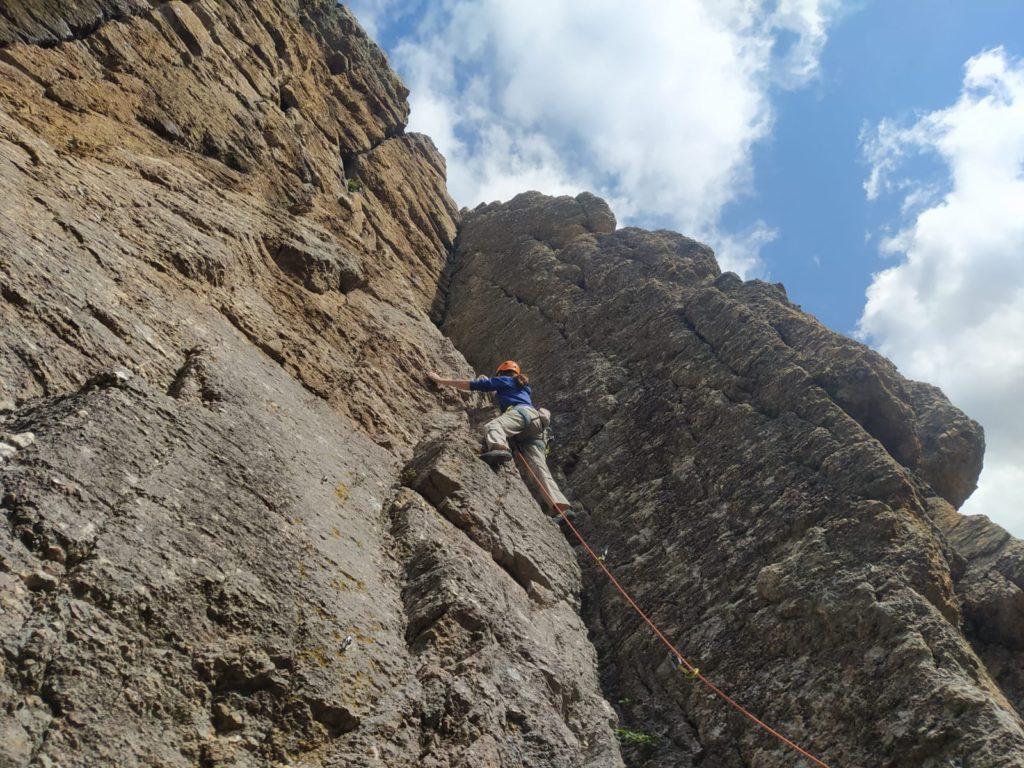 Skalní lezení v Toskánsku
