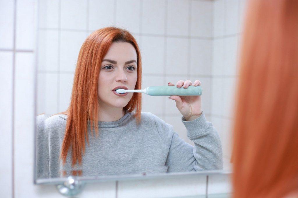 návyky a čištění zubů