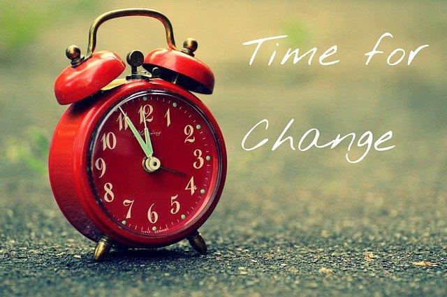 čas se změnit