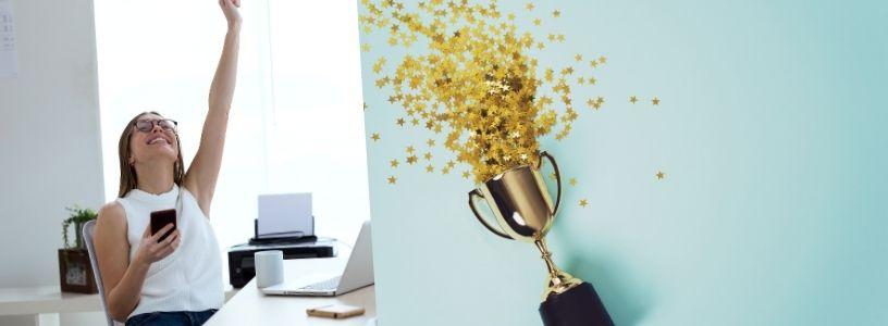 Efekt úspěšnosti je úspěšně vyvolán, pokud si zákazník vezme příklad od úspěšných jedinců, kteří situaci úspěšně zvládli.