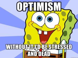 spongebob optimista