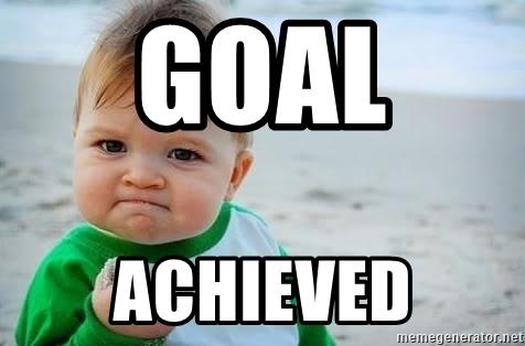 cíle a úspěch