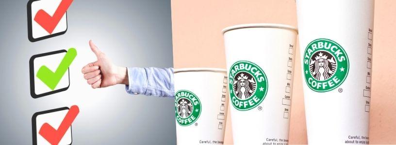 Efekt střední hodnoty můžeme vidět například u firmy Starbucks.