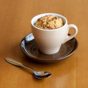 Snídaňový mugcake