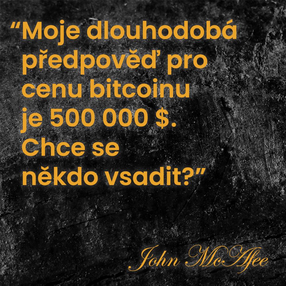 Bitcoin předpověď