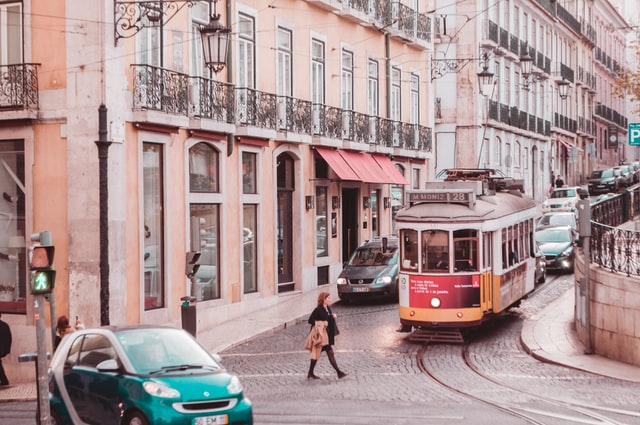 Tramvaj v Lisabonu