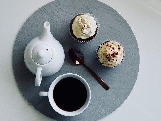 Cupcake s kávou