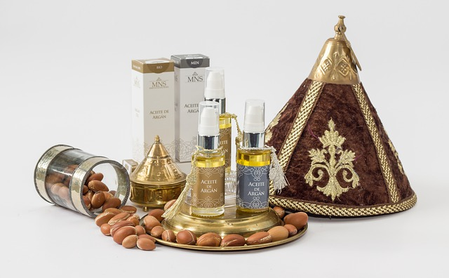 vitamíny na vlasy - arganový olej