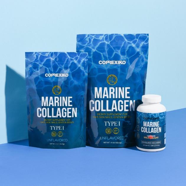 vitamíny na vlasy - mořský kolagen