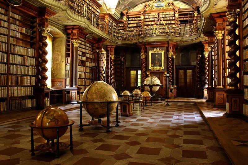 Knihovna v Klementinu