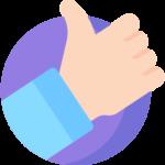 Pozitivní myšlení ikona