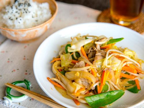 Yasai Itame je ultimátní zeleninový pokrm.