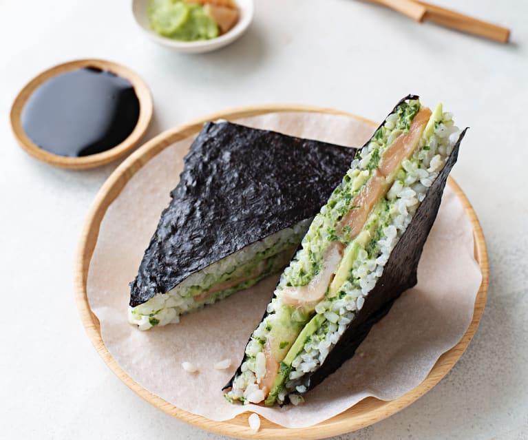 Onigirazu sendviče