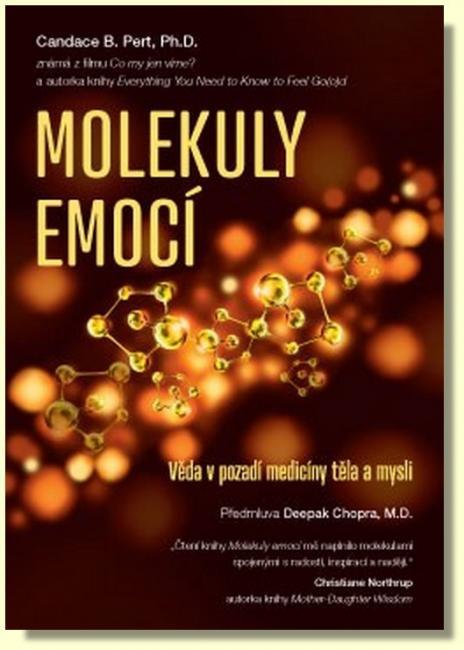 Kniha Molekuly emocí ukazuje, jaké chemikálie ovlivňují prožití pocitů.