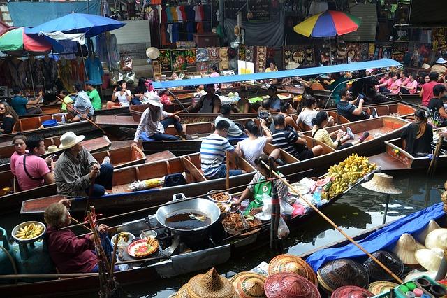 Pohled na Bangkok