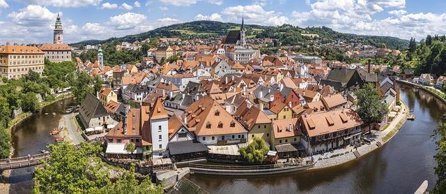 Český Krumlov je jedno z nejkrásnějších měst v Česku