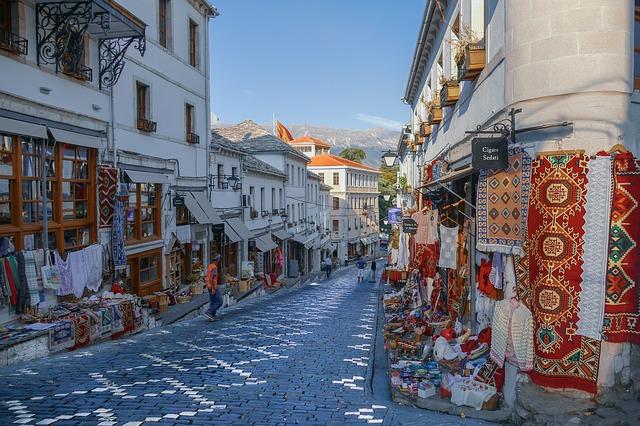 Historické městečko Gjirokastër