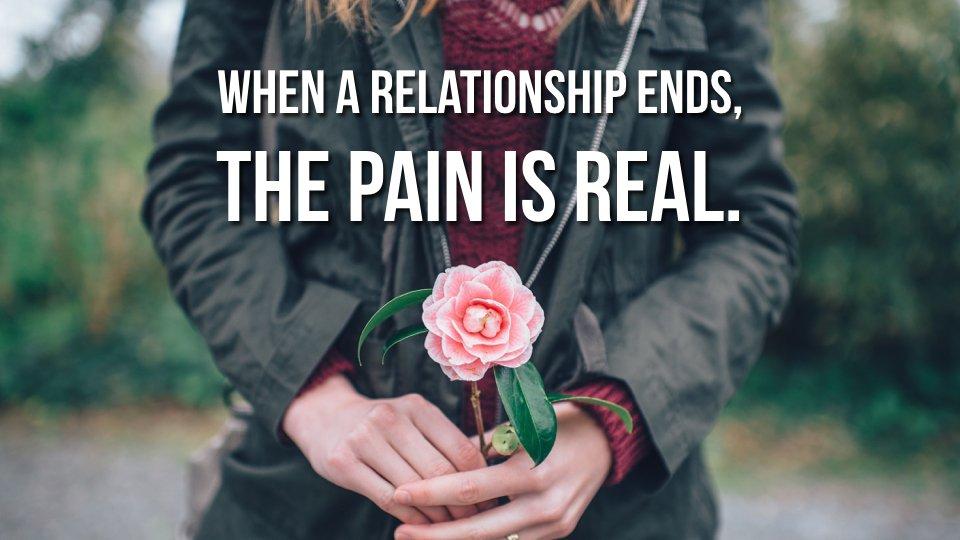 Bolest, kterou cítíme u zlomeného srdce, je skutečná.