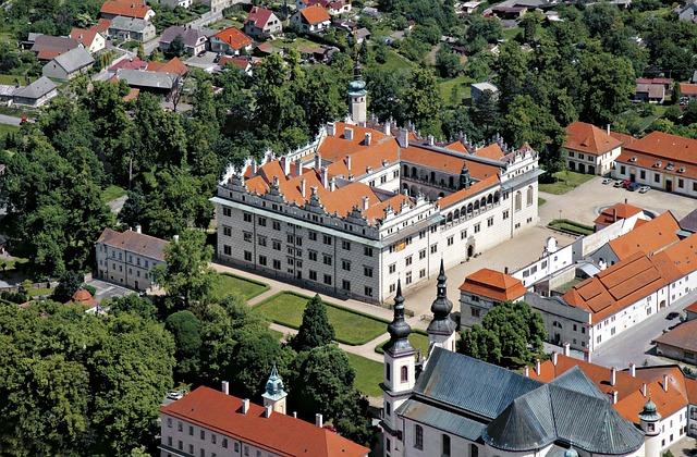 Zámek v Litomyšli nepochybně patří mezi nejkrásnější místa v ČR