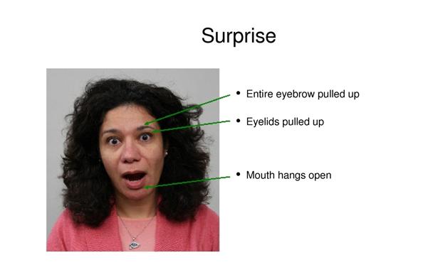 Sedmou emocí je překvapení.