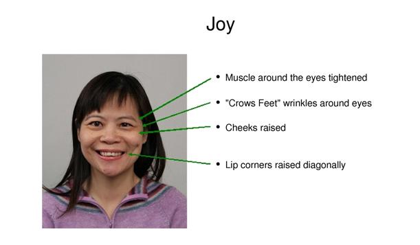 Pátou emocí je radost.