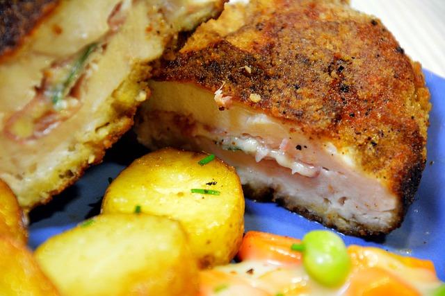 Co vařit k obědu? Cordon bleu