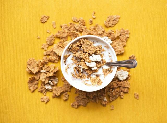 zdravé svačiny a snídaně