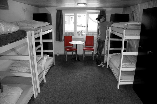Lost cost ubytování v hostelu