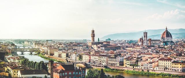 Nejkrásnější města v Evropě: Florencie