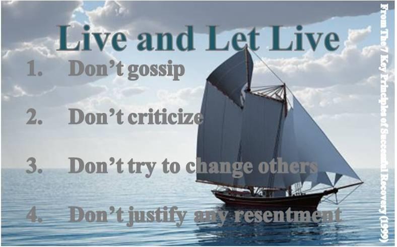 Nekritizuj, neodsuzuj. Žij a nech žít.