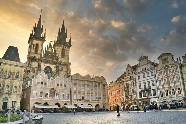 Historická Praha je úchvatná